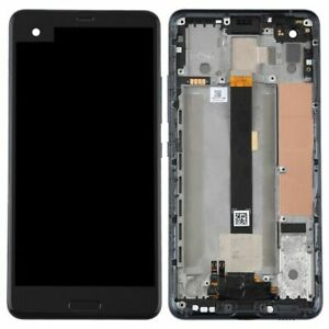 For HTC U Ultra Full Complete Black LCD Touch Screen Digitizer+Frame Replacement