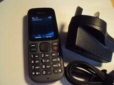 Fácil Barato Senior ancianos desactivar niños Repuesto Nokia 100 de Vodafone + Cargador