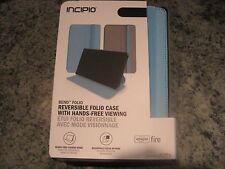 Incipio Reversible Bend Folio Case for Amazon Fire HD 7 4th Gen Aqua Marine