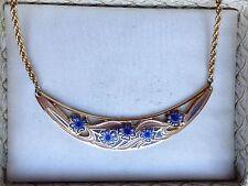 Cloisonne Enamel Vintage Costume Necklaces