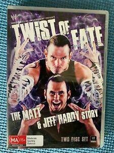 Twist of Fate: The Matt & Jeff Hardy Story - DVD - WWE - 2 Disc Set