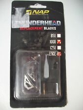 NAP Thunderhead EDGE 100 Grain Replacement Blades 9 Pack, 60-683 new in pack