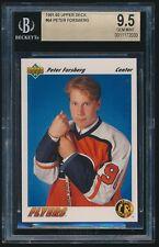 1991-92 Upper Deck rookie #64 Peter Forsberg rc BGS 9.5