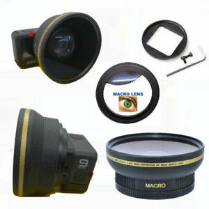 GOPRO HERO9 BLACK WIDE ANGLE FISHEYE LENS + ADAPTER + HD MACRO LENS