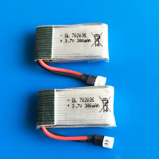 2x3.7V 20C 380mAh 702035 Lipo Battery For Hubsan H107 H6C Quadcopter Helicopters