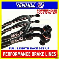 SUZUKI SV650S 2003-08 VENHILL stainless steel braided brake hose BK