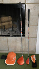 "Cobra Golf Ricky Fowler Orange Driver & Hybrid - Hat Cover - 7-9 Years 51-54"" In"