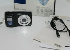 Sony Cyber-Shot DSC-S3000 10,1 MP Digital Camera Black Boxed