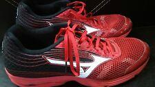 Mizuno Wave Sayonara 3 Men's Running Shoes Shin Red - White - Black size 14