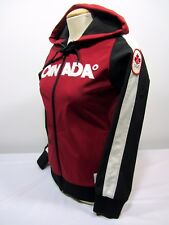 Hudson Bay Co. Canada 2010 Olympic Women's S Red Soft Shell Full Zip Jacket