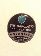 2016 Barclays Golf @ Bethpage Black Volunteer pin