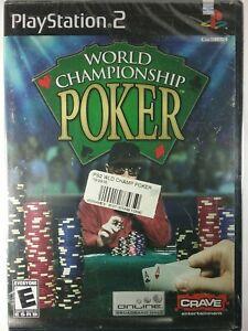 World Championship Poker PS2  Sony PlayStation 2 Brand New Sealed!