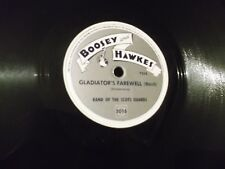 78 RPM Boosey and Hawkes Wellington by Band of the Scots Guards #2015 record