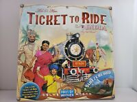 EUC 2011 TICKET TO RIDE INDIA & SWITZERLAND VOLUME 2 EXPANSION PACK COMPLETE