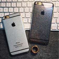 2017 Coque Case Souple Glitter Bling Paillettes Strass iPhone 4 5S SE 6S + Hoty