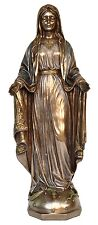 Veronese Bronze Figurine Religious Our Lady Mother Mary Christmas Statue Gift