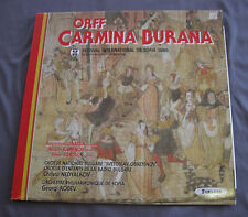 "Vinilo LP 12"" 33 rpm CARL ORFF - FESTIVAL INTERNATIONAL DE SOFIA 1986"