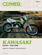 Kawasaki KX250 KX 250 MotoX 1992-2000 Clymer Manual M4732 NEW