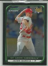Jaime Garcia St. Louis Cardinals 2008 Bowman Chrome Draft R/C