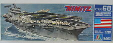 Italaerei 503-Nimitz c.v.n. 68 aircraft carrier - 1:720 Kit-kit Italeri