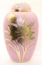Urna Para Cenizas Cremación Memorial Funeral Adulto recipiente grande de ceniza Venta De Latón
