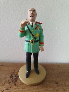 Figurine TINTIN N°108  le colonel TAPIOCA  MOULINSART Hergé No Leblon St Emett