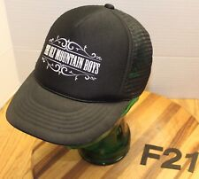 OLY MOUNTAIN BOYS BAND HAT BLACK SNAPBACK ADJUSTABLE VERY GOOD CONDITION F21