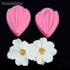Flower Petal Silicone Mold Fondant Cake Decorating Chocolate Sugarcraft Mould