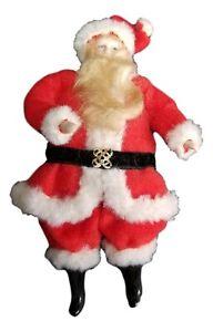 "Miniature Dollhouse ARTISAN Dollhouse 1:12 Handmade Vintage Santa Claus Doll 6"""