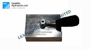 Bosch Rexroth Compact Hydraulics / Oil Control R930002349 - 05522710030000B
