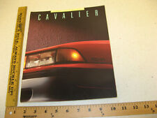 1988 88 Chevrolet Chevy Cavalier Sales Literature Brochure 34 pages BR102