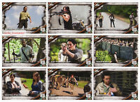 2017 TOPPS Walking Dead Season 6 - 100 Trading Card Base Set + Empty Box + Wrap