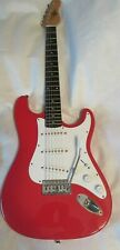 Rogue ST-3  Electric Guitar by Squier Red 6 Strings