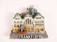 Magnet Frankfurt Römer Deutschland,Poly 3D Relief Souvenir Germany,NEU !