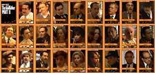 Godfather part 2 movie trading cards Pacino Duval De Niro Corleone
