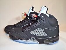 Men's Nike Air Jordan 5 Retro OG Size 14 (845035 003) Black/Red/Silver/White