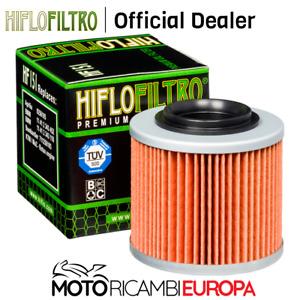 FILTRO OLIO HF151 PER BMW F650 GS DakarR13 01-04 HIFLOFILTRO COD.HF151