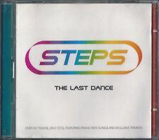 STEPS - THE LAST DANCE 2002 EU 2 X CD LISA LEE CLAIRE IAN 'H' WATKINS FAYE
