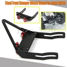 Xtra Speed ST Steel Front Bumper Winch Mount For Axial SCX10 RC #XS-SCX22131BK
