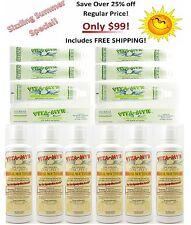 6 Bottles 16 Oz Vitamyr Mouthwash & 6 Tubes 5.4 Oz Vitamyr Zinc-Plus Toothpaste