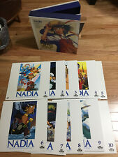 Nadia Perfect Collection Japanese 10 Laserdisc set SECRET OF THE BLUE WATER