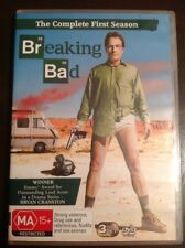 BREAKING BAD The Complete First Season 3 DVDs R4 Excellent Condition