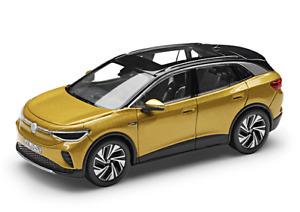 wonderful diecast-PR-modelcar VOLKSWAGEN VW ID.4 2021 - yellow metallic - 1/43