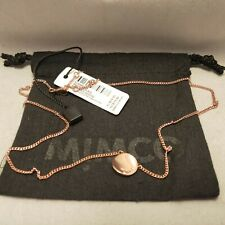 BNWT MIMCO WAVER Necklace Rose Gold FREE EXPRESS