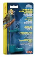 Hagen Living World Bird Cage COMBO WATERER or FEEDER Medium
