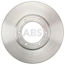 A.B.S. 2x Bremsscheiben belüftet beschichtet 18063