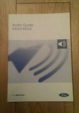 FORD AUDIO MANUAL GUIDE CD CASSETTE TAPE FOCUS FIESTA MONDEO 5500 6500