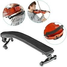 More details for comfy violin shoulder rest for 1/2 3/4-4/4 adjustable height and width black