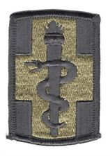 Army Patch:  330th Medical Brigade - subdued, merrowed edge