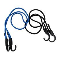 Bungee Straps Cords Set Hook Elasticated Rope Cord Tie Bikes Luggage Strap KV